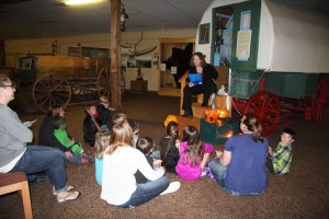 LM Halloween Night at the Museum wy ghost story reading